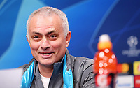 9th March 2020, Red Bull Arena, Leipzig, Germany; Champions League football, Leipzig versus Tottenham Hotspur; Tottenham Press conference and training sessions the day before their match;  Jose Mourinho Tottenham Hotspur, Trainer / Manager
