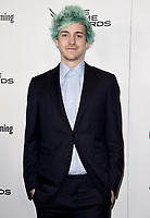 LOS ANGELES - DECEMBER 6: Ninja (L) attends the 2018 Game Awards at the Microsoft Theater on December 6, 2018 in Los Angeles, California. (Photo by Scott Kirkland/PictureGroup)