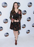 08 January 2018 - Pasadena, California - Hayley Orrantia. 2018 Disney ABC Winter Press Tour held at The Langham Huntington in Pasadena. <br /> CAP/ADM/BT<br /> &copy;BT/ADM/Capital Pictures