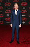LOS ANGELES, CA - DECEMBER 9:Domhnall Gleeson, at Premiere Of Disney Pictures And Lucasfilm's 'Star Wars: The Last Jedi' at Shrine Auditorium in Los Angeles, California on December 9, 2017. Credit: Faye Sadou/MediaPunch /NortePhoto.com NORTEPHOTOMEXICO