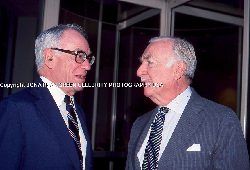 Malcolm Forbes &amp; Walter Cronkite by <br />