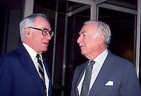 Malcolm Forbes & Walter Cronkite by <br />