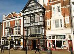 The historic quayside The Ship Anson pub, Portsmouth, Hampshire, England