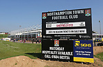 A general view of the Sixfields stadium during the League One match at the Sixfields Stadium, Northampton. Picture date: April 8th, 2017. Pic David Klein/Sportimage