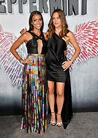 "LOS ANGELES, CA. August 28, 2018: Jennifer Garner & Annie Ilonzeh at the world premiere of ""Peppermint"" at the Regal LA Live."