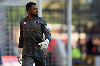 Jordan Archer of Millwall during the Sky Bet Championship match between Nottingham Forest and Millwall at the City Ground, Nottingham, England on 4 August 2017. Photo by James Williamson / PRiME Media Images.