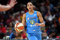Washington, DC - September 8, 2019: Chicago Sky forward Gabby Williams (15) in action during game between the Chicago Sky and Washington Mystics at the Entertainment and Sports Arena in Washington, DC. The Mystics locked up the #1 seed in the Playoffs by defeating the Sky 100-86. (Photo by Phil Peters/Media Images International)