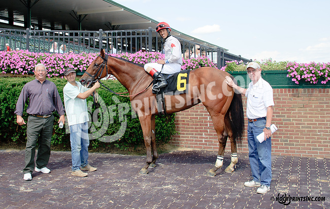 Memphis Sunrise winning at Delaware Park on 8/13/14