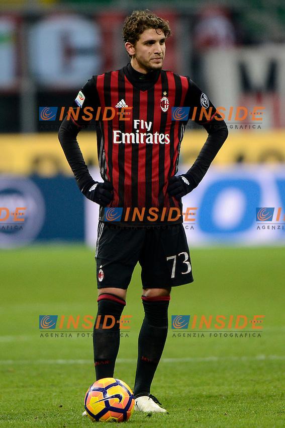 Manuel Locatelli Milan<br /> Milano 8-01-2017 Stadio Giuseppe Meazza - Football Calcio Serie A Milan - Cagliari Foto Giuseppe Celeste / Insidefoto