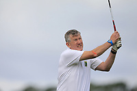Shane McConn (Roscommon) on the 10th tee during the Final of the AIG Jimmy Bruen Shield in the AIG Cups & Shields Connacht Finals 2019 in Westport Golf Club, Westport, Co. Mayo on Sunday 11th August 2019.<br />