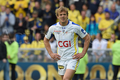 18.04.2015. Clermont-Ferrand, Auvergne, France. Champions Cup rugby semi-final between ASM Clermont and Saracens.   Aurelien Rougerie (asm)
