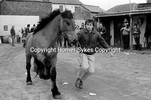 Southall weekly Wednesday Horse market London 1983. My ref 8/4457/,1983,