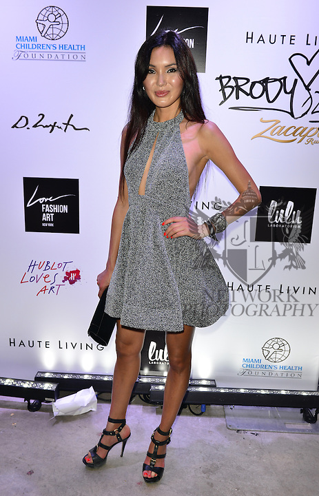 MIAMI, FL - DECEMBER 02: Soo Yeaon Lee attends Haute Living And Zacapa Rum Present Domingo Zapata at Lulu Laboratorium on Wednesday December 2, 2015 in Miami, Florida. (Photo by Johnny Louis/jlnphotography.com)