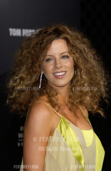 Actress KATE BECKINSALE at the Rodeo Drive Walk of Style Gala honoring Gucci's Tom Ford..March 28, 2004