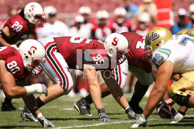 1 September 2007: Chris Horn during Stanford's 45-17 loss to the UCLA Bruins at Stanford Stadium in Stanford, CA.