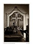 Father Serra cenotaph, San Carlos Borromeo del Carmelo, by Larry Angier.