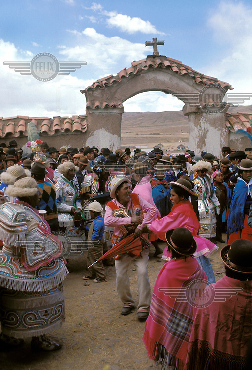 Aymara festival on the Altiplano.