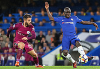 N'Golo Kante of Chelsea and Bernardo Silva of Manchester City <br /> Calcio Chelsea - Manchester City Premier League <br /> Foto Phcimages/Panoramic/insidefoto