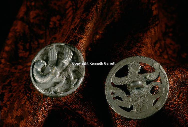 Silver artifacts; National Museum of Turkmenistan, Ashgabat, artifact, Oxus Civilization; Turkmenistan; Gonor Depe site; Victor Sarianidi; Archaeology; BMAC complex