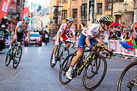 Picture by Alex Whitehead/SWpix.com - 30/09/2018 - Cycling - UCI 2018 Road World Championships - Innsbruck-Tirol, Austria - Elite Men's Road Race. Adam Yates of Great Britain.