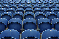 General view of the empty seats ahead of Glamorgan vs Essex Eagles, Royal London One-Day Cup Cricket at the SSE SWALEC Stadium on 7th May 2017