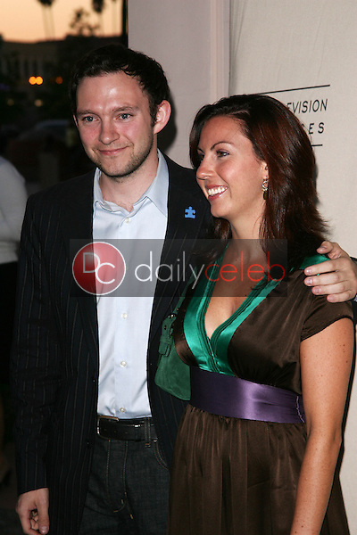 Nathan Corddry and friend<br />
