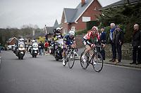 Tim Wellens (BEL/Lotto-Soudal) &amp; Julian Alaphilippe (FRA/Etixx-QuickStep) in teh escape<br /> <br /> 56th De Brabantse Pijl - La Fl&egrave;che Braban&ccedil;onne (1.HC)