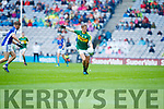Fiáchra Clifford Kerry in action against Danny Cusack Cavan in the All Ireland Minor Semi Final in Croke Park on Sunday.