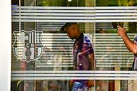 BARCELONA, ESPANHA, 24.07.2018 - FUTEBOL-BARCELONA - Malcom atacante, revelado pelo Corinthians é apresentado no Barcelona FC nesta terça-feira, 24. (Foto: Weberth Souza/Brazil Photo Press)