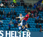 June 10th 2017, Ullevaal Stadion, Oslo, Norway; World Cup 2018 Qualifying football, Norway versus Czech Republic;  Bjorn Maars Johnsen of Norway challenges for a header during the FIFA World Cup qualifying match