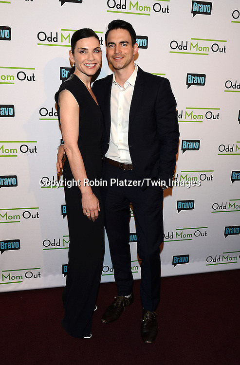 Julianna Margulies and Keith Lieberthal  attend the &quot;Odd Mom Out&quot; Screening, which is Bravo's first scripted half-hour comedy from Jill Kargman,  on June 3, 2015 at Florence Gould Hall in New York City, New York, USA.<br /> <br /> photo by Robin Platzer/Twin Images<br />  <br /> phone number 212-935-0770