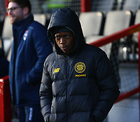1st December 2019; Global Energy Stadium, Dingwall, Highland, Scotland; Scottish Premiership Football, Ross County versus Celtic; Karamoko Dembele of Celtic - Editorial Use