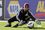 20 November 2010:  Matt Pickens (18) of the Colorado Rapids.  Colorado Rapids held a practice at BMO Field, Toronto, Ontario, Canada as part of their preparations for MLS Cup 2010, Major League Soccer's championship game.