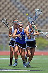 San Diego, CA 05/21/11 - Kyla Roessler (Rancho Bernardo #2) and Katie Trees (Torrey Pines #14) in action during the 2011 CIF San Diego Section Division 1 Championship game between Rancho Bernardo and Torrey Pines.