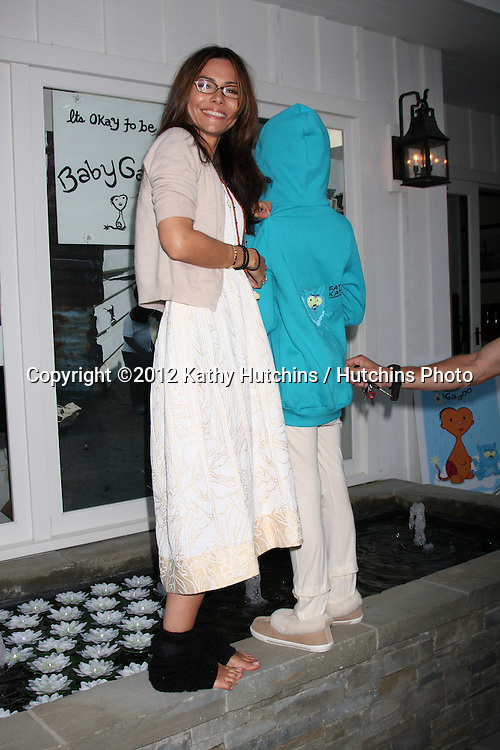 "LOS ANGELES - APR 28:  Vanessa Marcil-Giovinazzo, Model at the Launch of ""Baby Gagoo"" Clothing Line by Vanessa Marcil-Giovinazzo at private home on April 28, 2012 in Malibu, CA"