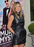 "Jennifer Aniston 054 arrives at the LA Premiere Of Netflix's ""Murder Mystery"" at Regency Village Theatre on June 10, 2019 in Westwood, California"