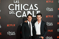 "Martino Rivas and Yon Gonzalez attends to ""Las chicas del cable"" premiere at Callao Cinemas in Madrid, April 27, 2017. Spain.<br /> (ALTERPHOTOS/BorjaB.Hojas)"