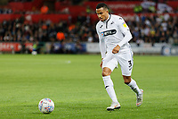 Martin Olsson of Swansea City in action during the Sky Bet Championship match between Swansea City and Leeds United at the Liberty Stadium, Swansea, Wales, UK. Tuesday 21 August 2018