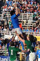 Andrea Masi (Italia)<br /> Italia vs Irlanda<br /> Six Nations Rugby<br /> Stadio Flaminio, Roma, 05/02/2011<br /> Photo Antonietta Baldassarre Insidefoto