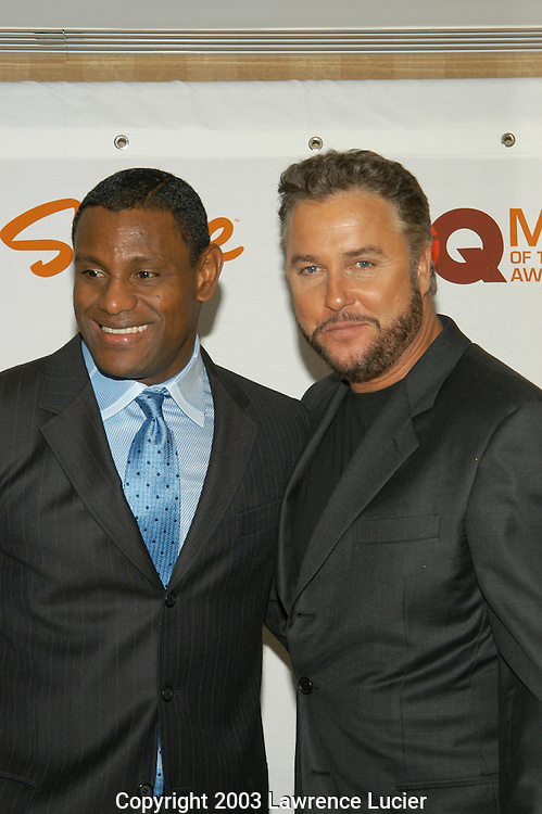 Sammy Sosa and William Petersen