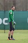 11.04.2018, Trainingsgelaende, Bremen, GER, 1.FBL, Training SV Werder Bremen<br /> <br /> im Bild<br /> Eric Oelschlaegel (SV Werder Bremen U23 #43), <br /> <br /> Foto &copy; nordphoto / Ewert
