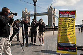 "Photographers' protest on the Thames Footpath outside City Hall to highlight restrictions on photography by security guards, and the privatisation of public space across London. Organised by the ""I'm a Photographer Not a Terrorist!"" campaign and supported by the NUJ London Photographers Branch."