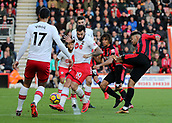 3rd December 2017, Vitality Stadium, Bournemouth, England; EPL Premier League football, Bournemouth versus Southampton; Joshua King of Bournemouth has his shot deflected