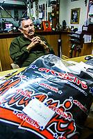 Rogelio Arrieta, empresario del deporte en Sonora. Propietario de la marca y tienda  Uniformes y deportes Arrieta<br /> <br />  (Foto:Luis Gutierrez/NortePhoto.com)