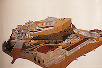 Greece: Athens--The Acropolis in Antiquity. ARCHAEOLOGY, Jan./Feb. '92.  Ref. only.