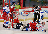 Brooks, AB - May 16 2019 - Ottawa Jr. Senators vs Oakville Blades Kings during the 2019 National Junior A Championship at the Centennial Regional Arena in Brooks, Alberta, Canada (Photo: Matthew Murnaghan/Hockey Canada)