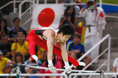 Ryohei Kato (JPN), <br /> AUGUST 8, 2016 - Artistic Gymnastics : <br /> Men's Final  <br /> Horizontal Bar   <br /> at Rio Olympic Arena <br /> during the Rio 2016 Olympic Games in Rio de Janeiro, Brazil. <br /> (Photo by Sho Tamura/AFLO SPORT)