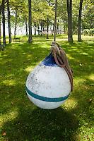 Buoy Swing, Great Island, Castine, Maine, US