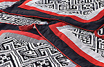 Black Thai Fabric 04 - Black Thai embroidered cushions from Vietnam