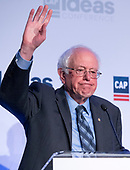 United States Senator Bernie Sanders (Independent of Vermont) makes remarks at the Center for American Progress' 2018 Ideas Conference at the Renaissance Hotel in Washington, DC on Tuesday, May 15, 2018.<br /> Credit: Ron Sachs / CNP<br /> (RESTRICTION: NO New York or New Jersey Newspapers or newspapers within a 75 mile radius of New York City)